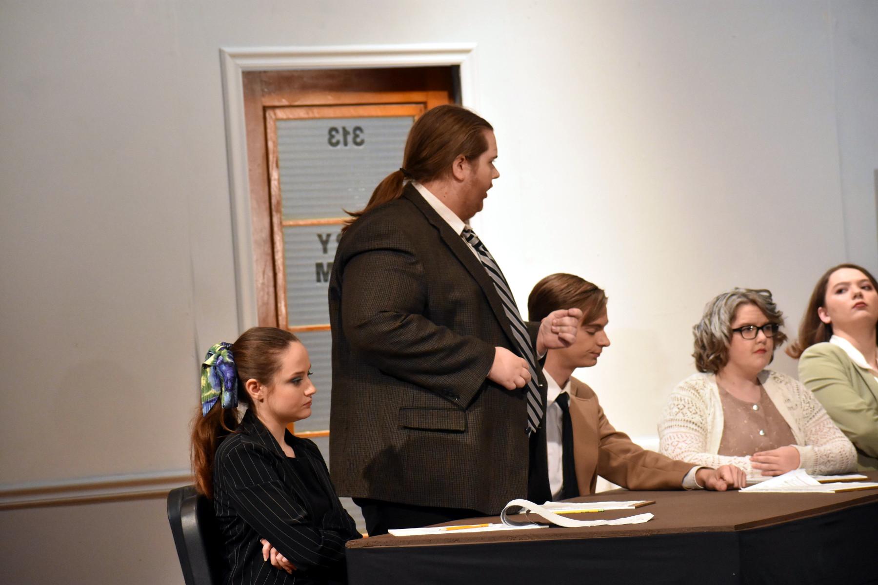 Juror debates