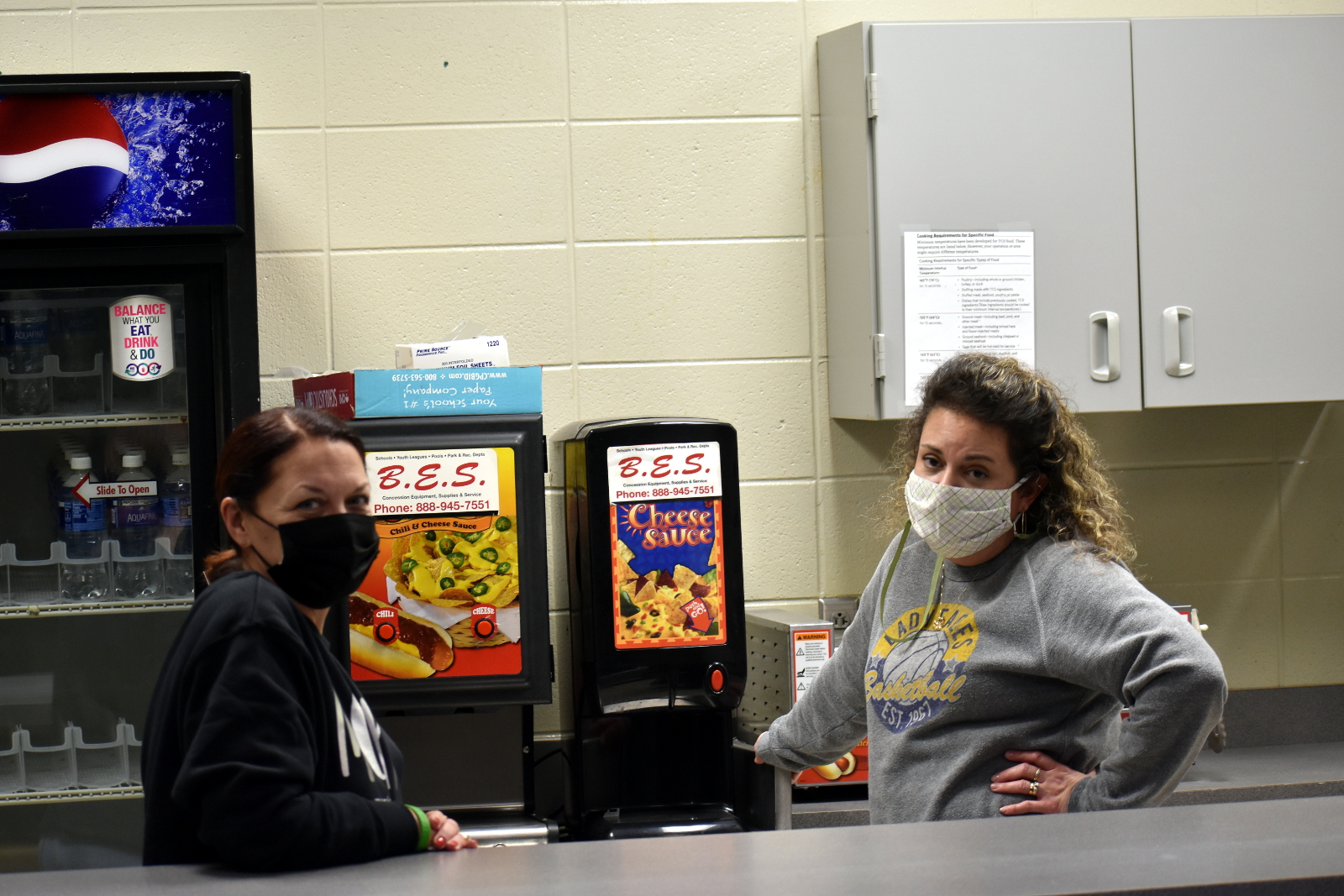 Concessions workers