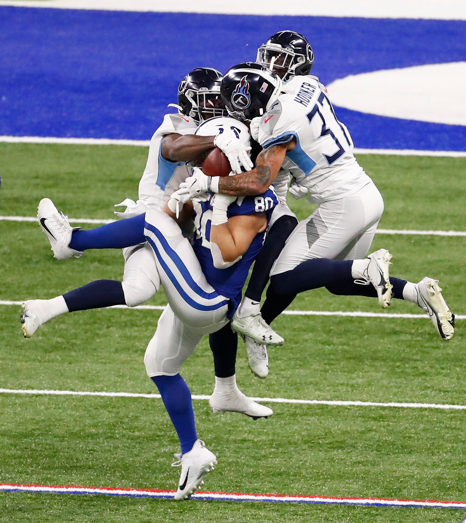 Colts catch