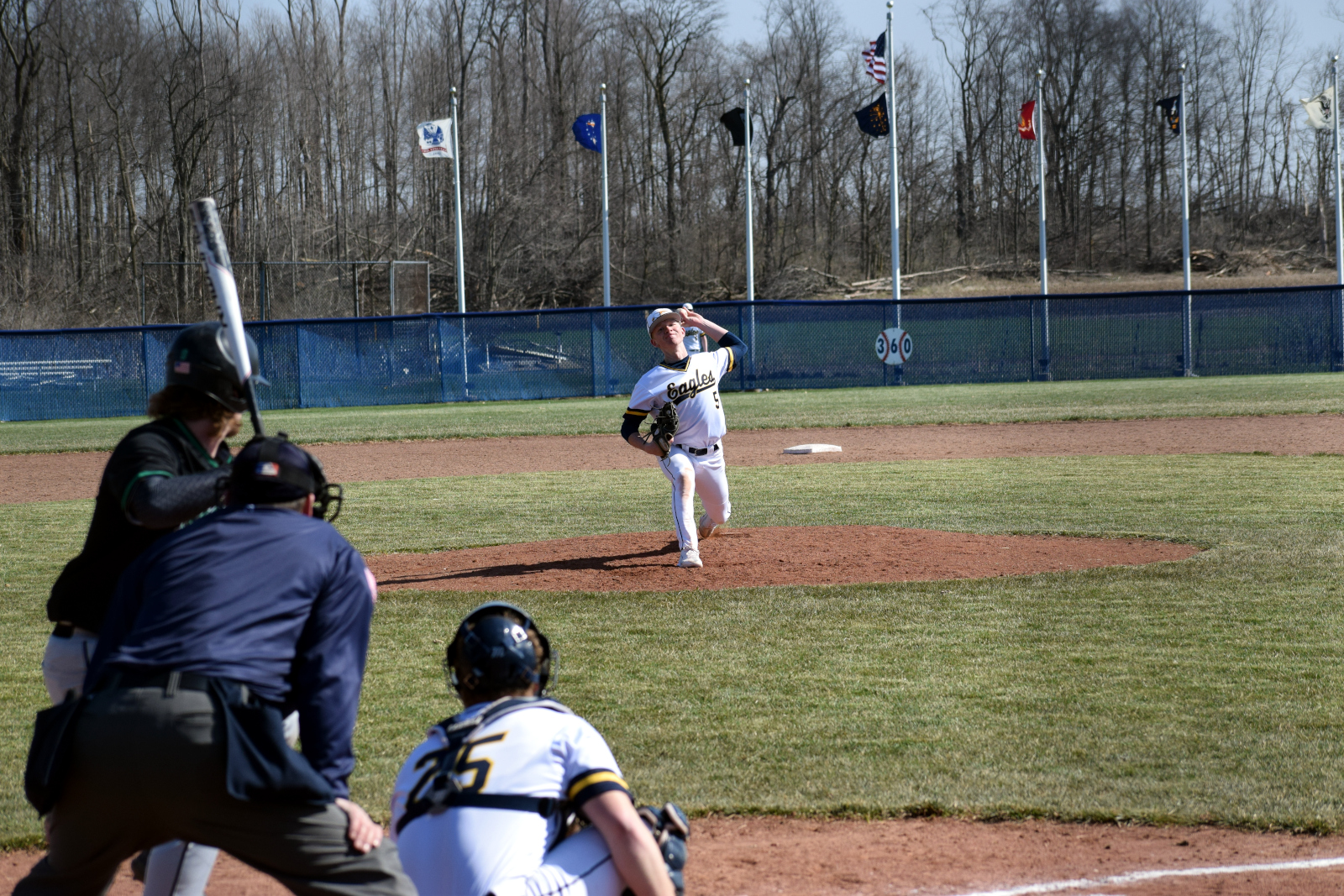 Pitch at first game