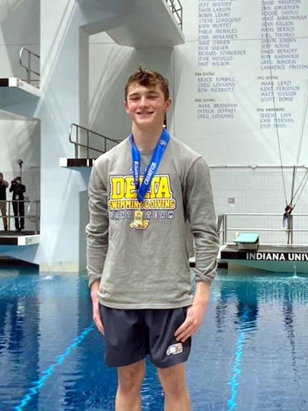 State champ diver